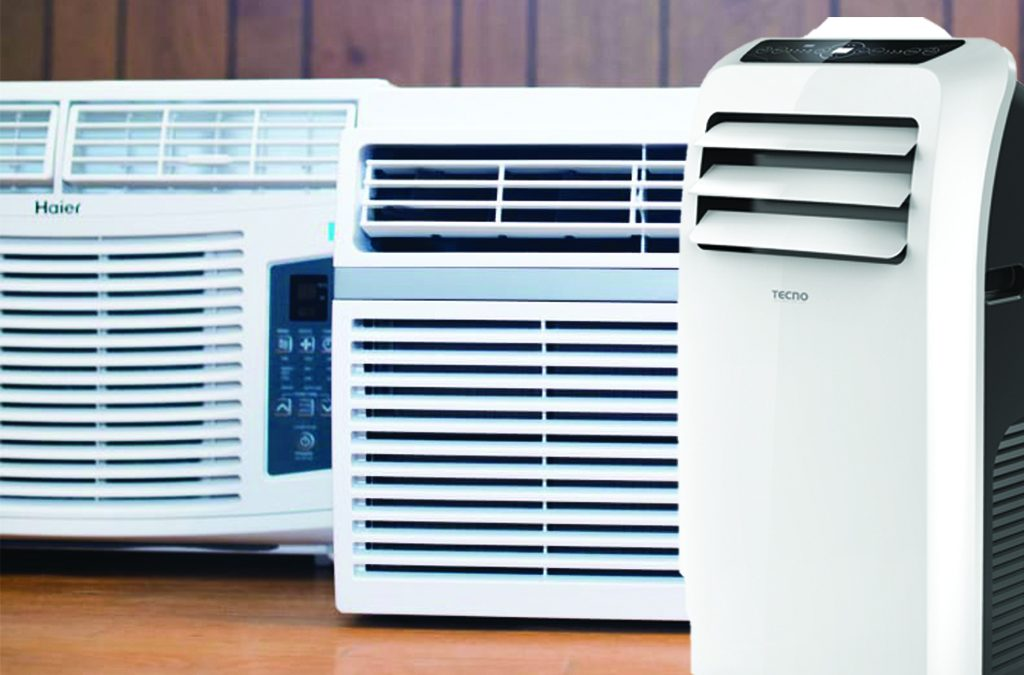 portable vs mounted aircon type